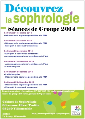 séances de groupe 2014