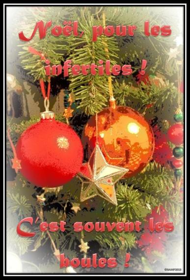 Noël, les boules