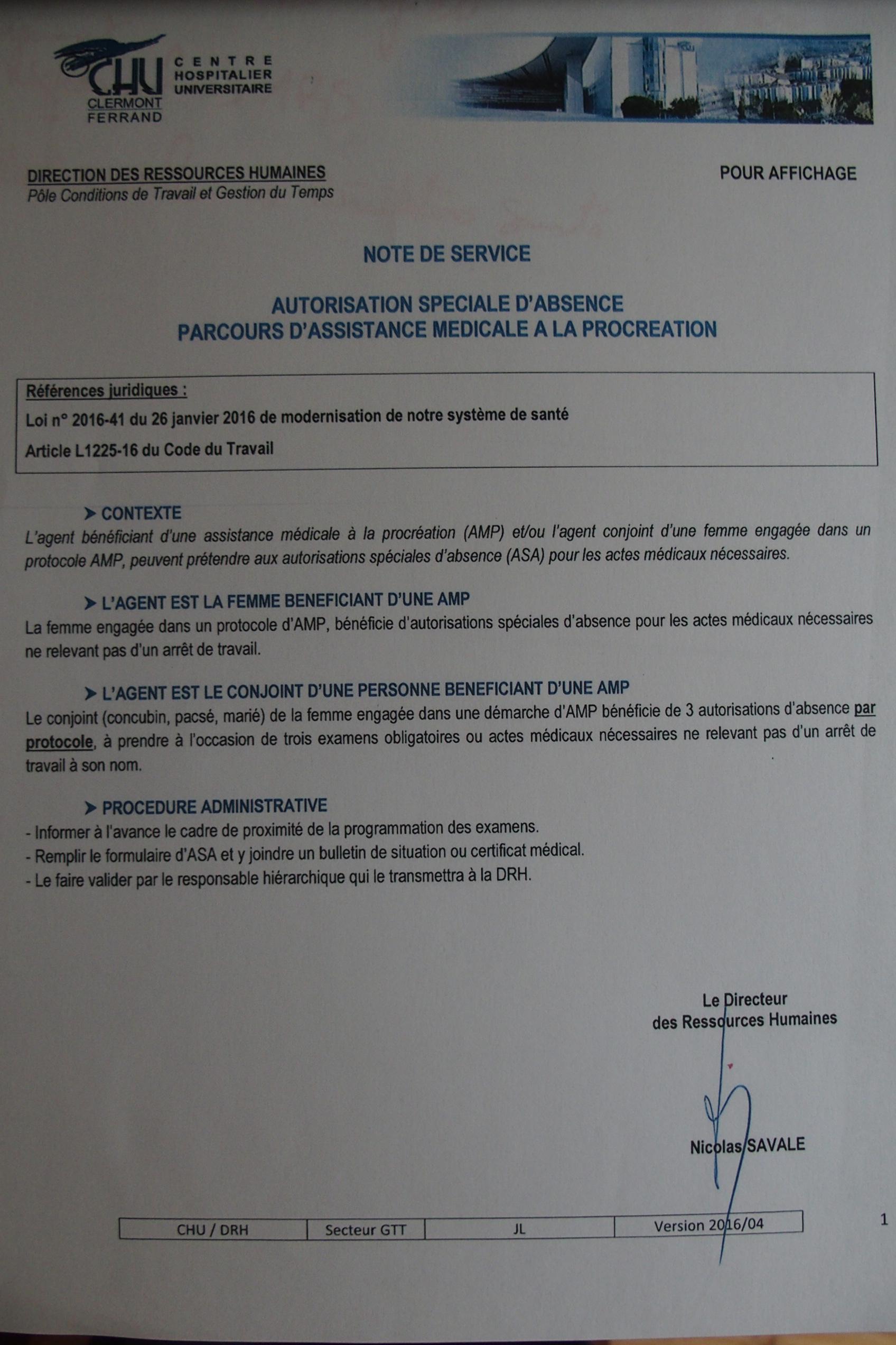 Fonction Publique Hospitaliere Et Autorisations D Absence Amp