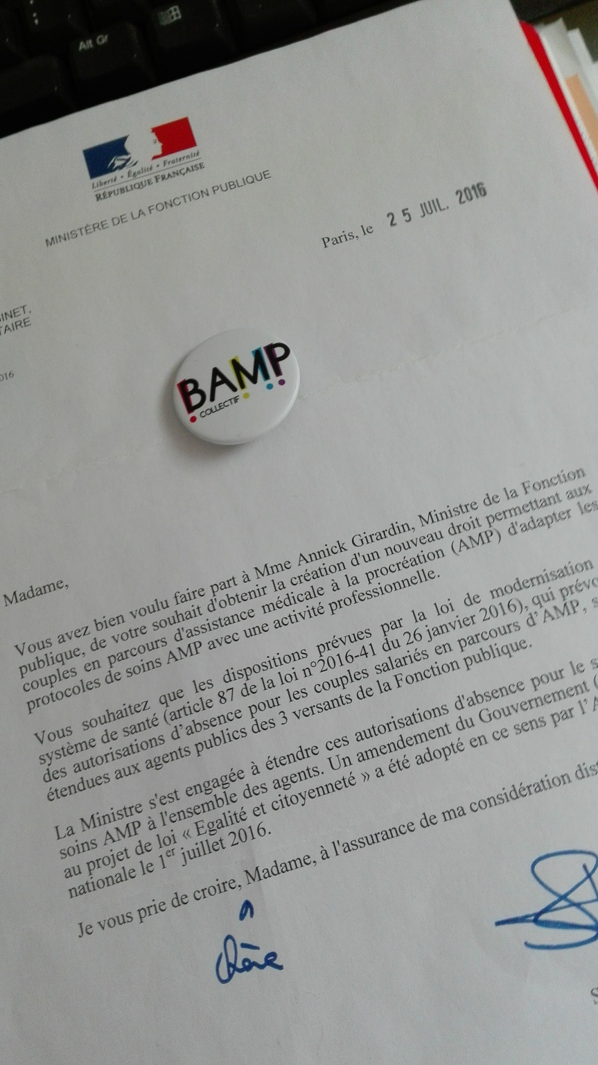 Fonction publique et autorisations d'absenceAMP