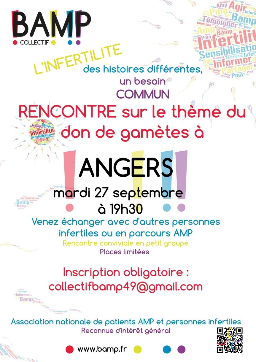 Don de gamètes –Angers