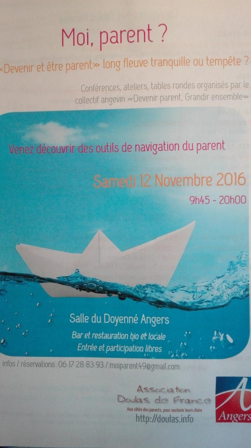 Angers – Journée d'information sur «devenir et être parents»