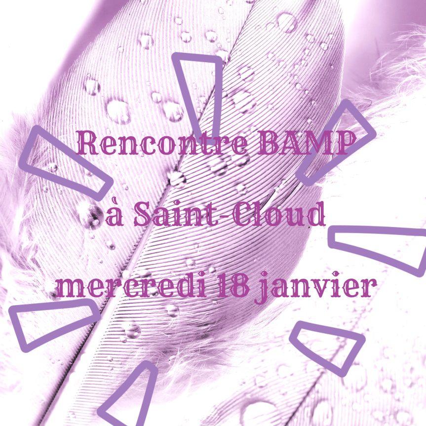 Première rencontre BAMP de 2017 àSaint-Cloud