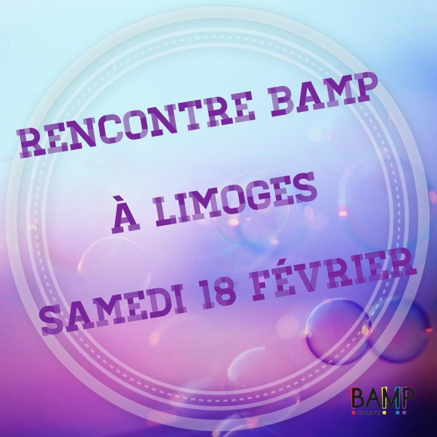 Rencontre BAMP à Limoges!