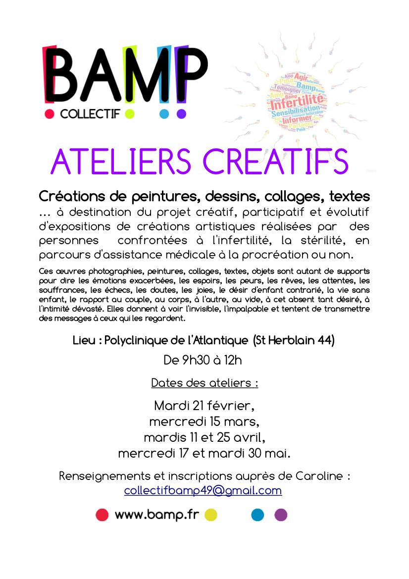 Ateliers créatifs –BAMP
