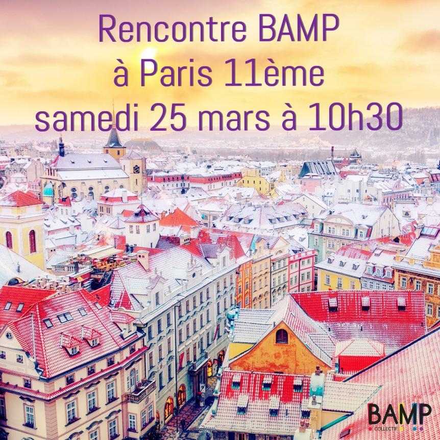 Rencontre BAMP à Paris11ème