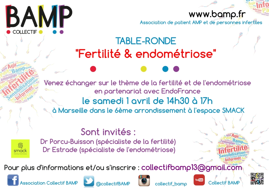 Table-ronde « Fertilité et endométriose » à Marseille