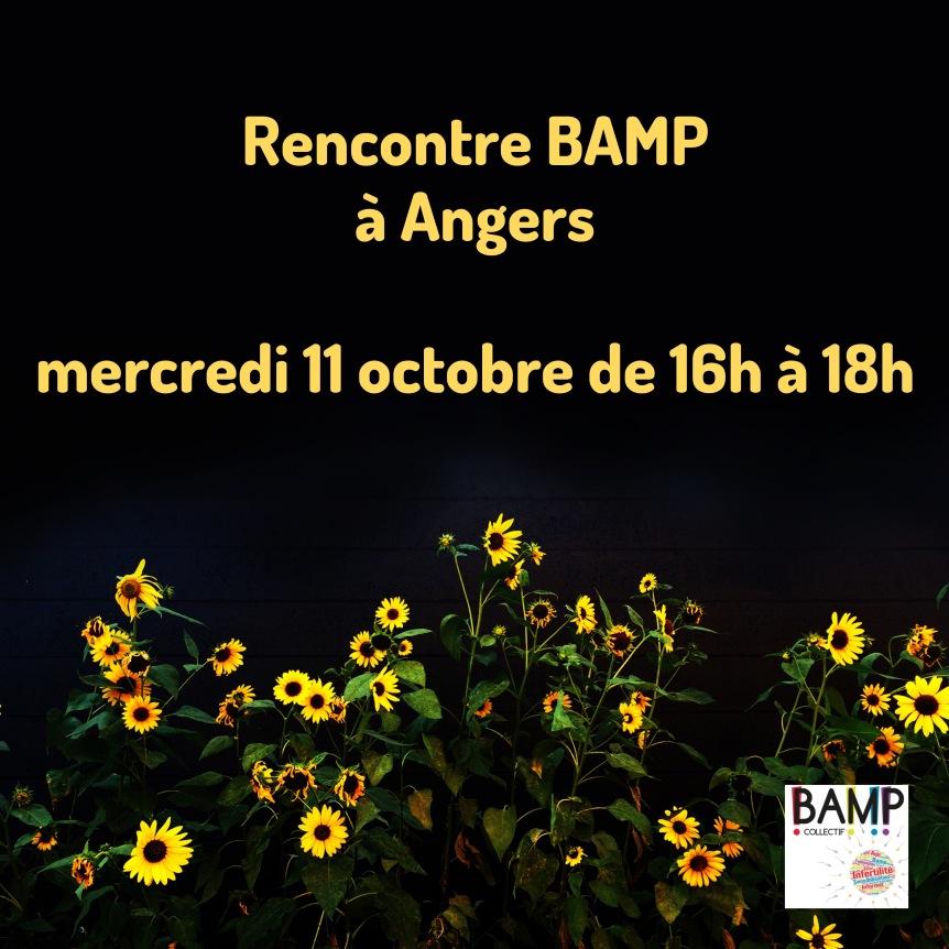 Angers ! Venez nous rencontrer!