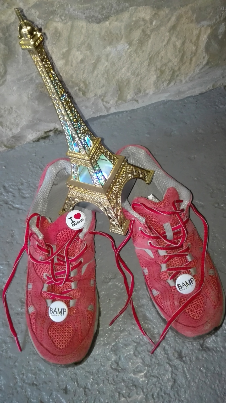 Courez La Parisienne aux couleurs de l'association COLLECTIF BAMP!