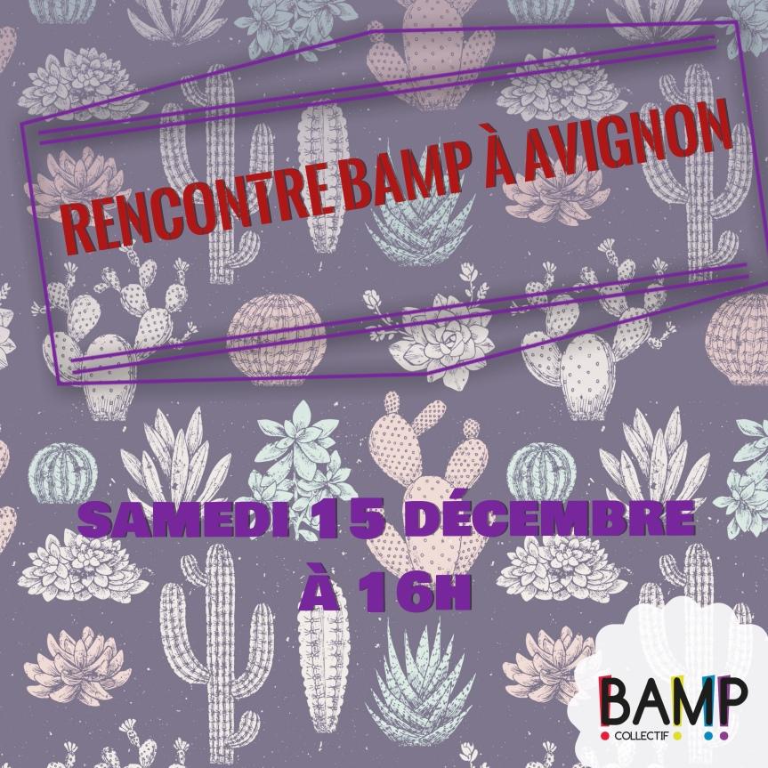 Ça BAMPe à Avignon avant l'arrivée du Père Noël!
