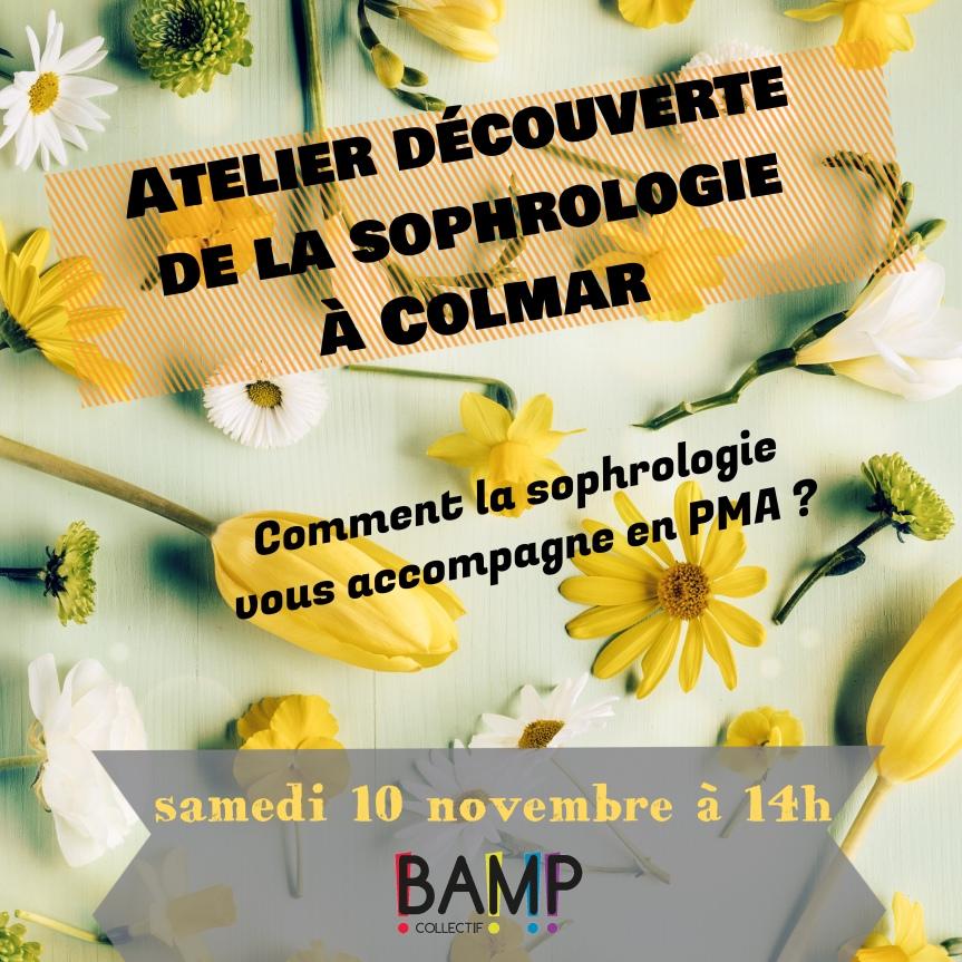 Atelier découverte de la sophrologie à Colmar!