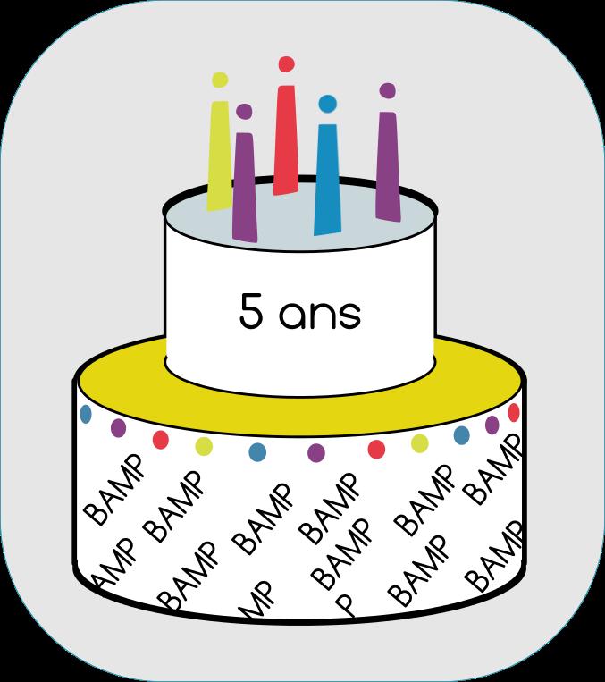 Bon anniversaire BAMP!