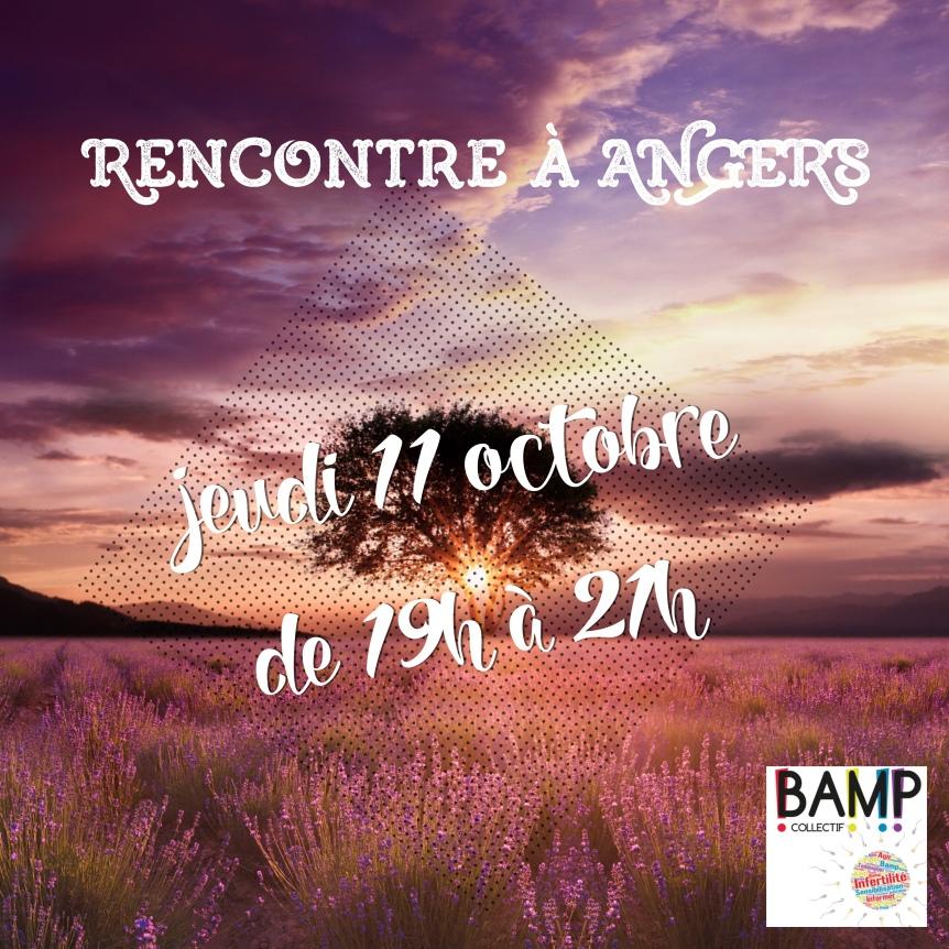 Rencontre à Angers!