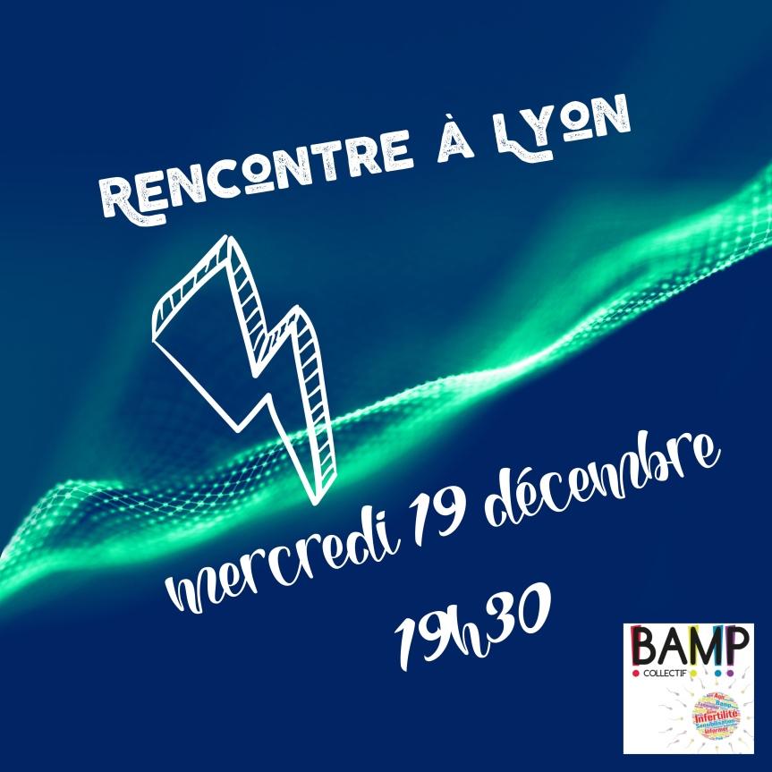 Oui, nous pouvons parler d'infertilité avant Noël !…et à Lyon!