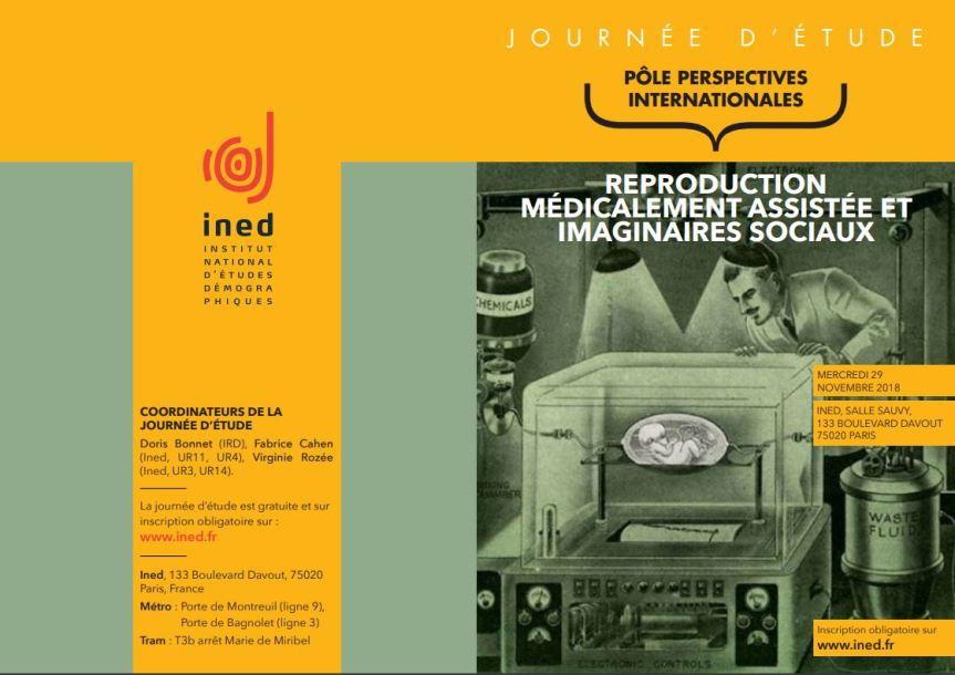 Journée d'étude INED : reproduction assistée et imaginairessociaux