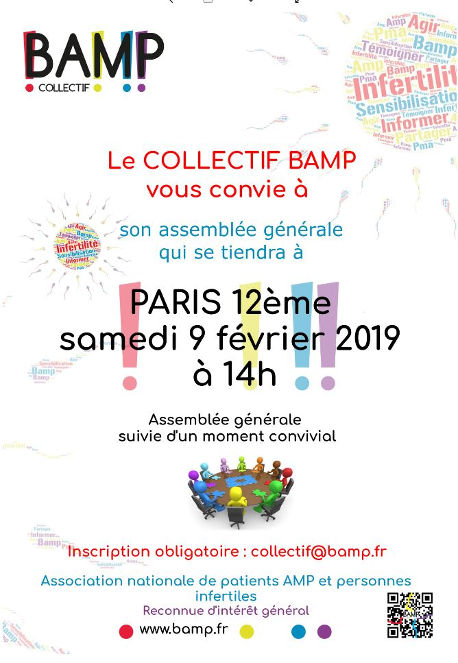 ASSEMBLEE GENERALE de l'association COLLECTIF BAMP !