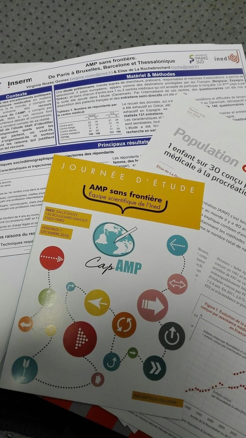 AMP sans frontières : une pré-enquête prometteuse!
