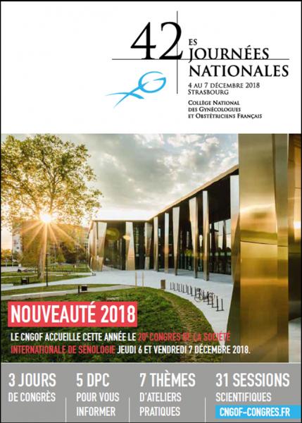Congrès CNGOF 2018