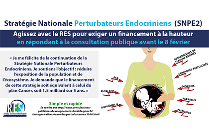 Participez à la Consultation publique sur les PERTURBATEURSENDOCRINIENS