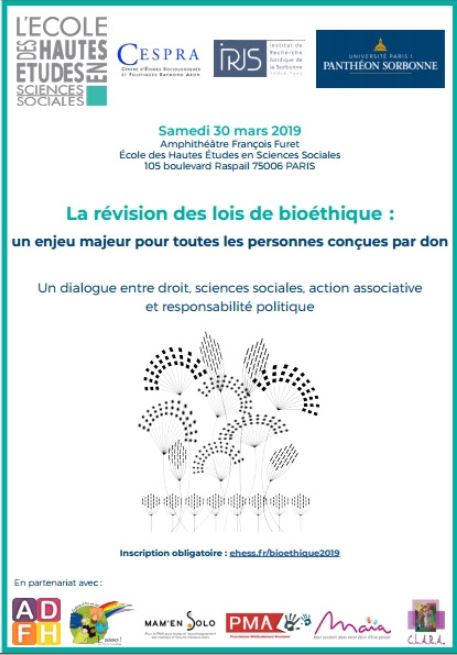 Bioéthique : « La question du don » – Colloque à l'EHESS