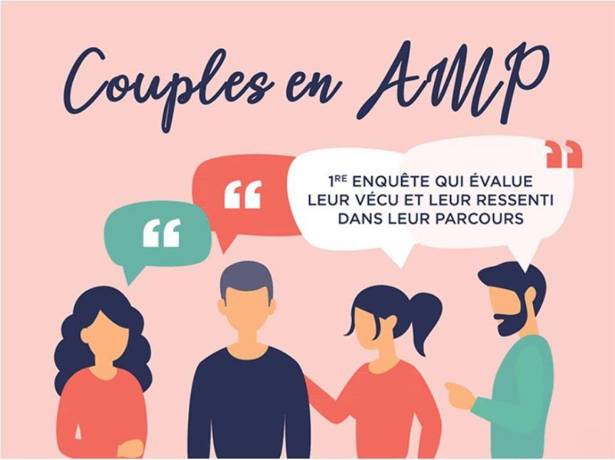 1ère enquête sur le vécu et le ressenti des couples en parcours d'AMP enFrance