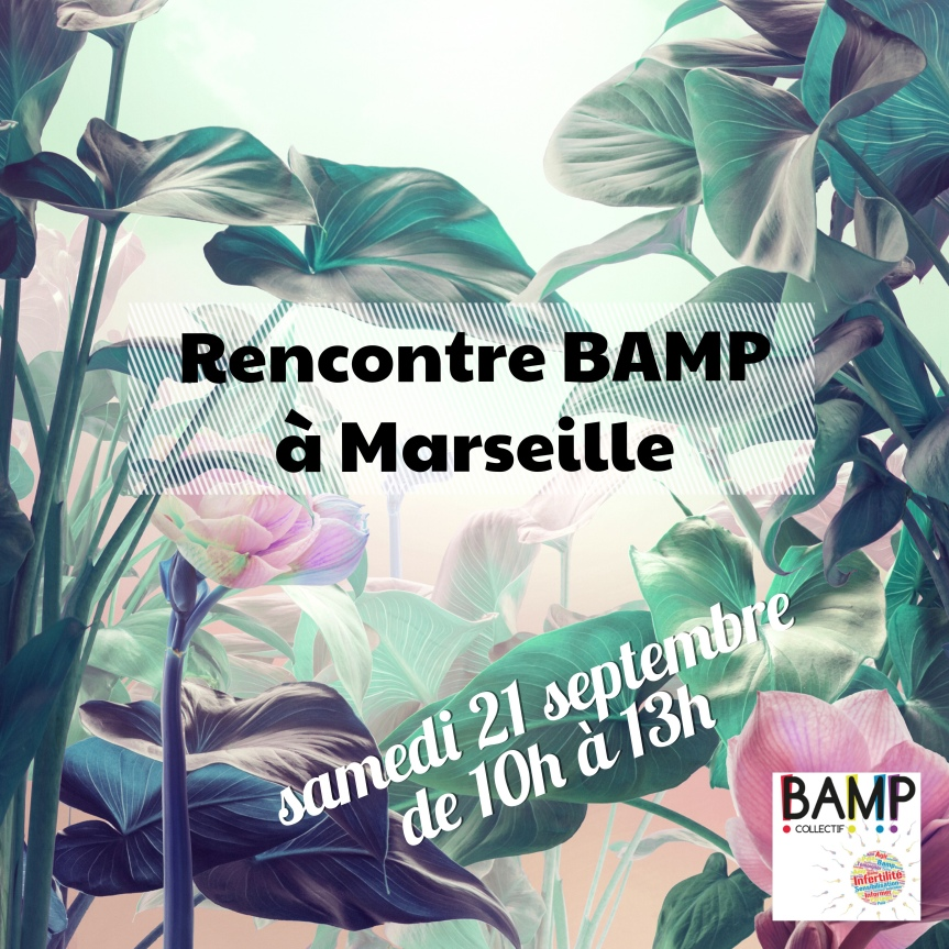 Venez parler d'infertilité à Marseille!