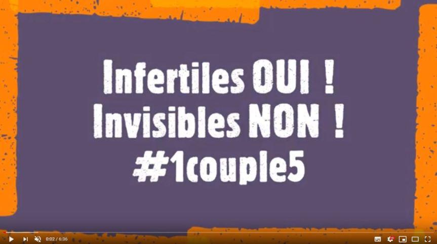 #1couple5, infertiles OUI, invisibles NON!