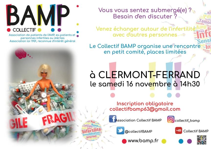 Affiche rencontre Clermont