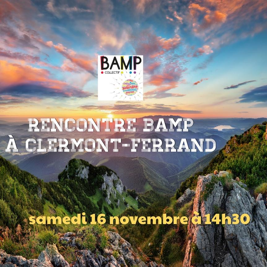 Rencontre BAMP à Clermont-Ferrand