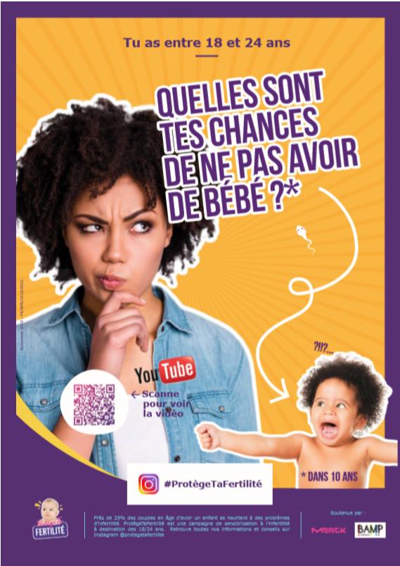 La vidéo Protège tafertilité